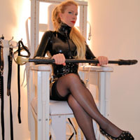 image Uk london milf teasing in a sexy black dress